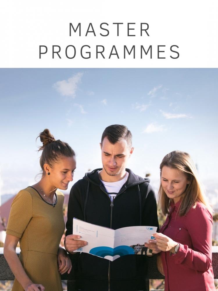 Master Degree Programmes