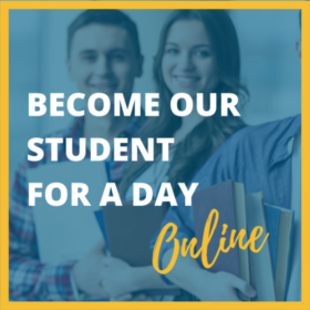 Become Our Student For A Day